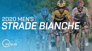 Strade Bianche | Men's Highlights | inCycle