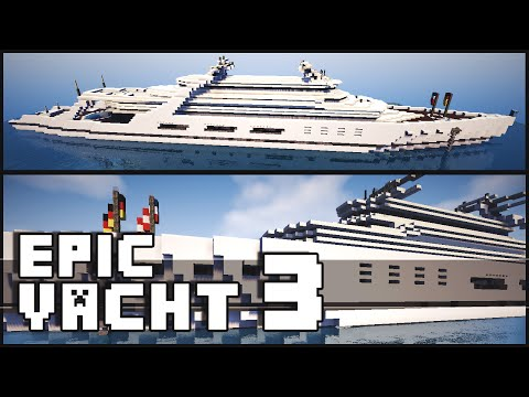 Minecraft - Epic Yacht 3