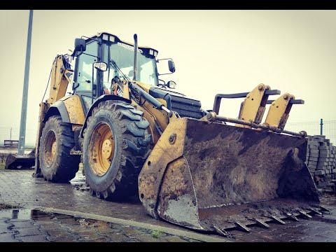 Koparko-ładowarka CAT 444F2/Backhoe-loader CAT 444F2