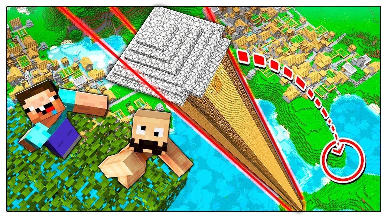 Non cadere dalla casa sull albero piu alta di minecraft ita youtube - Casa sull albero minecraft ...