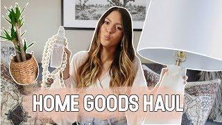 HOME GOODS HAUL || BOHO HOME DECOR | NOEL LABB