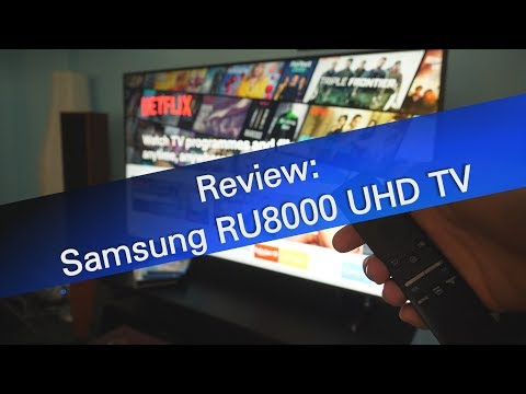 Samsung RU8000 UHD TV review