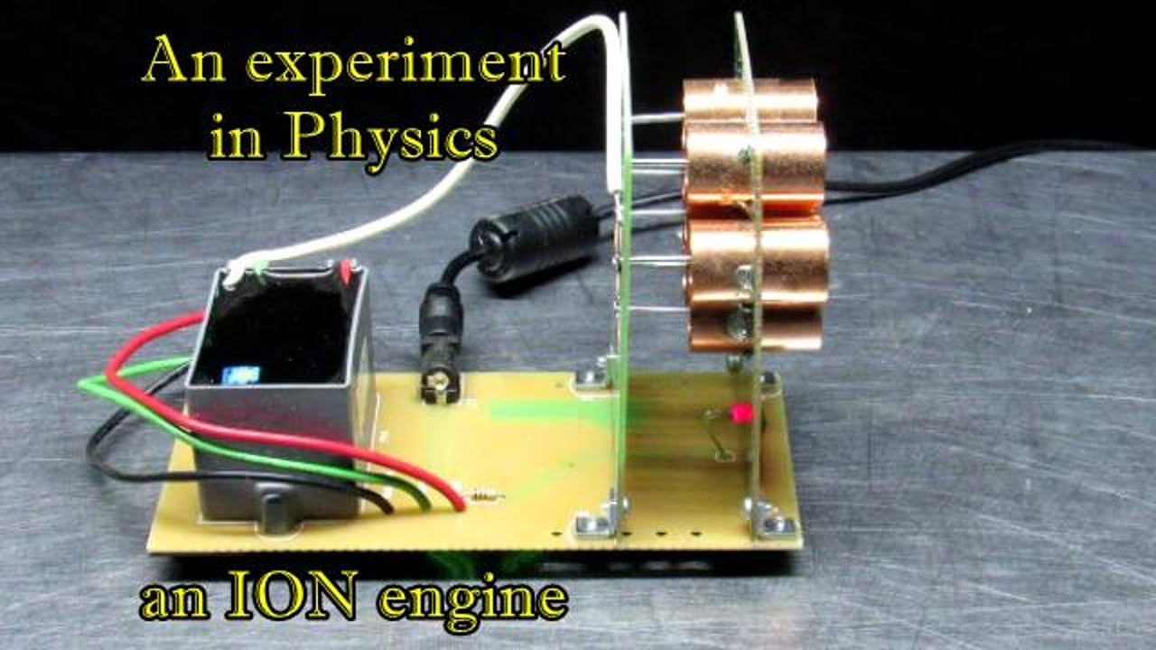 how to make an ion propulsion engine