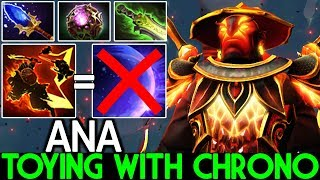 ANA [Ember Spirit] Toying with Chrono Full 9 Slotted WTF Gameplay 7.22 Dota 2