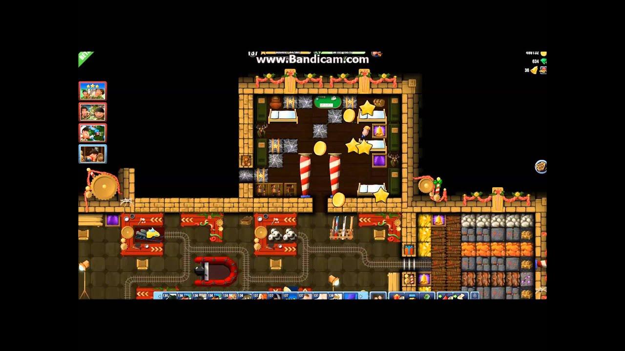Diggy's Adventure Christmas Challenge 1 - YouTube