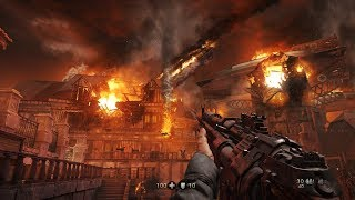 NAZI ZEPPELIN is DOWN ! Epic Mission from WW2 FPS Game Wolfenstein The Old Blood