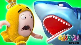 Dibujos Animados | Oddbods - El Ataque del Tiburón | Caricaturas Graciosas para Niños