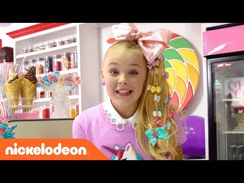 JoJo Siwa | BTS on the 'Kid in a Candy Store' Official Music Video | Nick