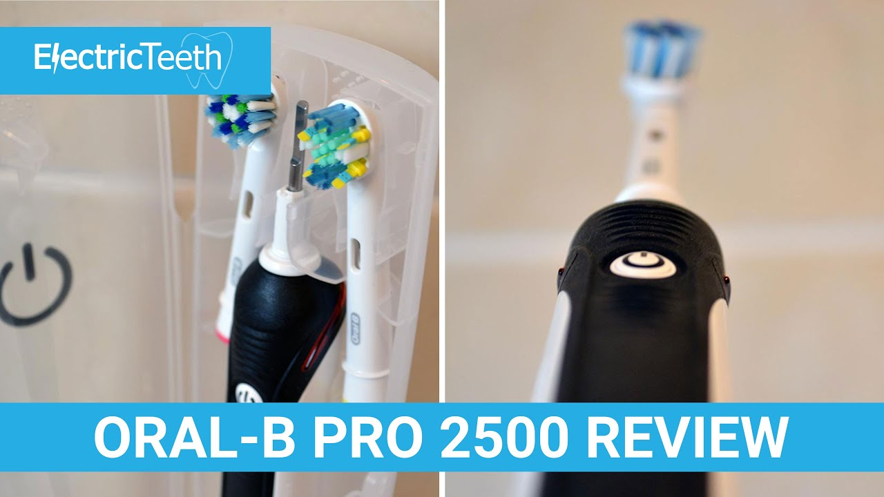 Oral-B Pro 2500 Black Review - YouTube 5a92ce5fbb01c