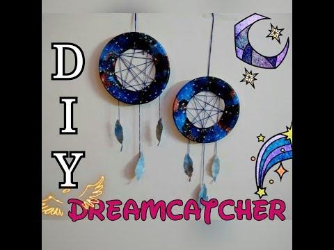 DIY wall decor /dream catcher using paper plates