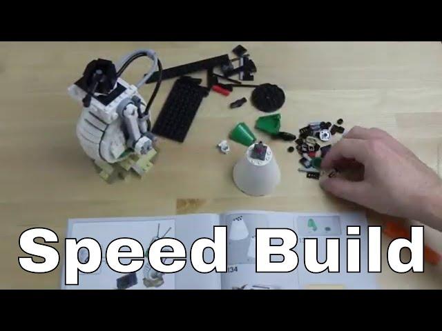 Speed Build: LEGO® Star Wars™ 75278 D-O™ - Aufbau im Zeitraffer
