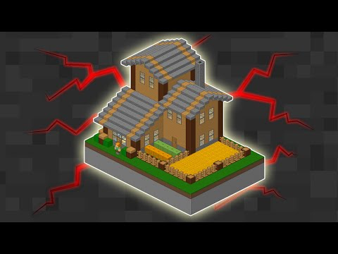 видео: ТОП 1 САМЫЙ МАЛЕНЬКИЙ МЕХАНИЧЕСКИЙ ДОМ В minecraft БЕЗ МОДОВ