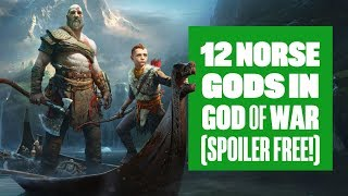 12 Norse Gods in God of War (we think)