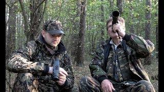 Охота на волка на вабу с Петром Селивончиком