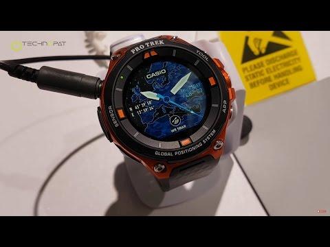 Casio Pro Trek Smart Akıllı Saat - CES 2017