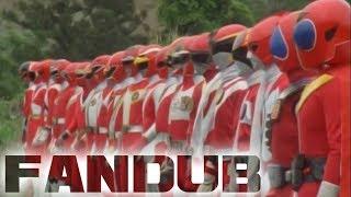GaoRanger VS Super Sentai Red Role Call Fandub