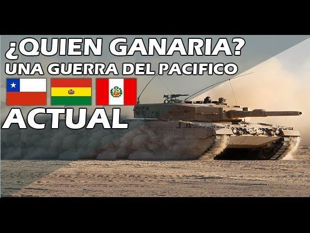 Quien Ganaria Una Guerra Del Pacifico Actual 2019 Youtube