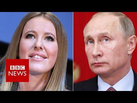 The woman running against Vladimir Putin for president - BBC