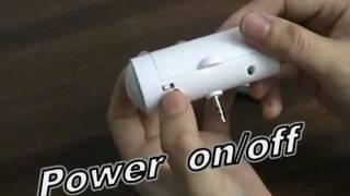 Mini Speaker for iPod/MP3/Cellphone, Portable