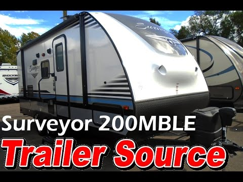 2017 Surveyor 200MBLE - Walkthrough - Trailer Source Inc