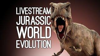 Jurassic World Evolution Live! We Play Jurassic World Evolution on Xbox One Live from Loading Bar