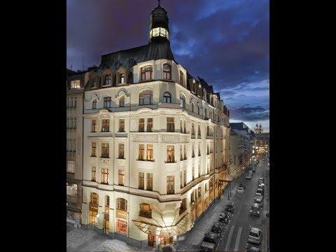 Art Nouveau Palace Hotel, Prague, Czech Republic