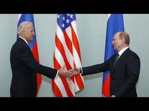 Байден - Путин: разговор об Украине