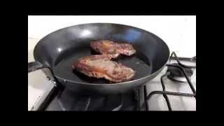 Как приготовить стейк на сковороде. От А до Я. С Max Malkiel