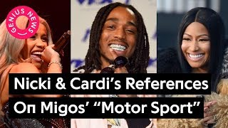 "Nicki Minaj & Cardi B's References On Migos' ""Motor Sport"" 
