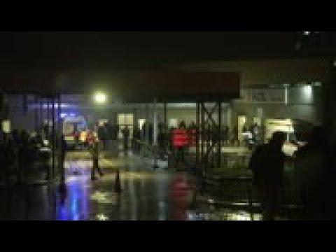 Plane skids off Istanbul runway, 1 dead, 157 hurt