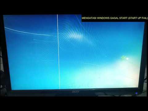 cara mengatasi startup repair gagal di windows 7.
