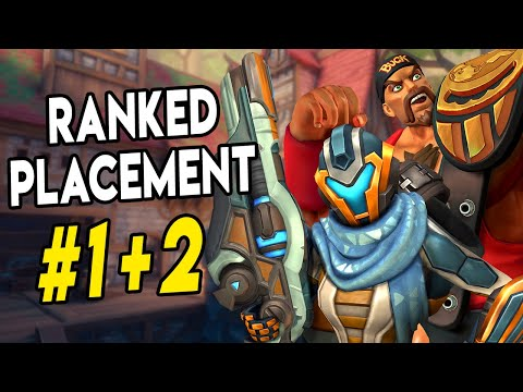 RANKED PLACEMENT GAMES #1+2 | Kinessa / Buck Gameplay