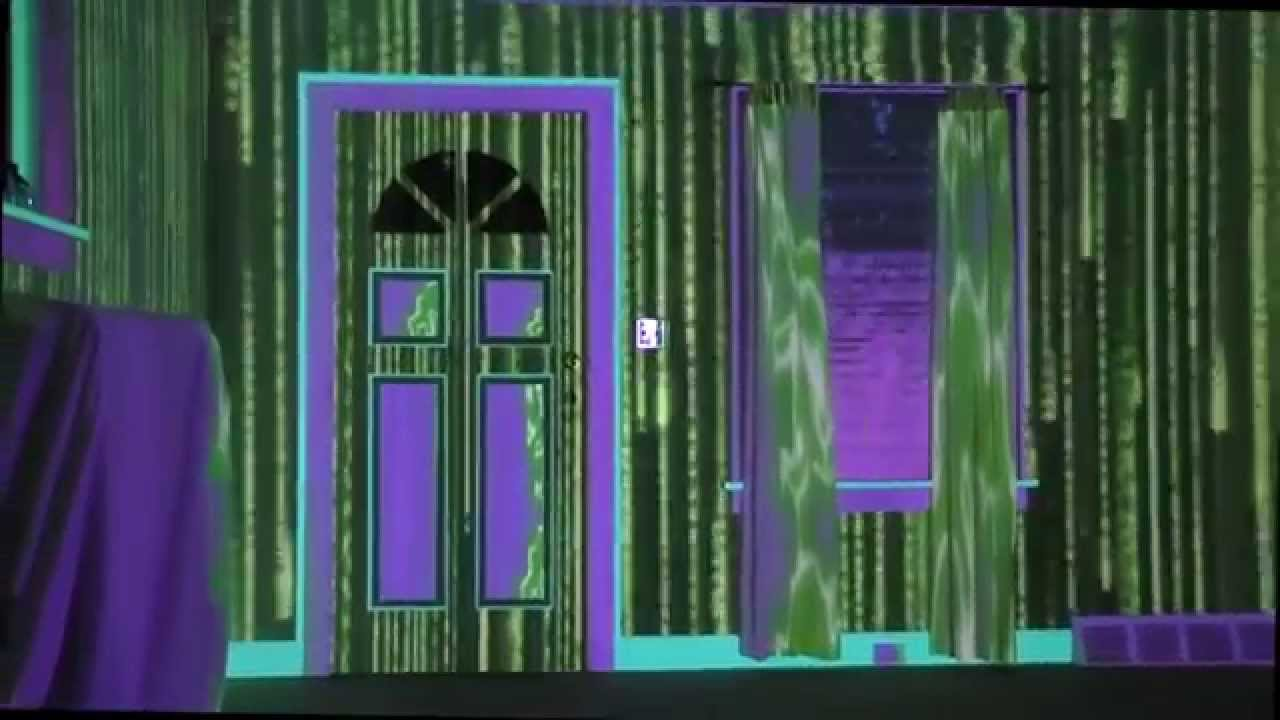Room Mapping living room projection mapping - youtube