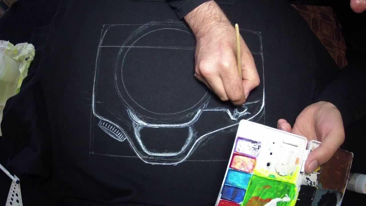 рисунки на одежде фото