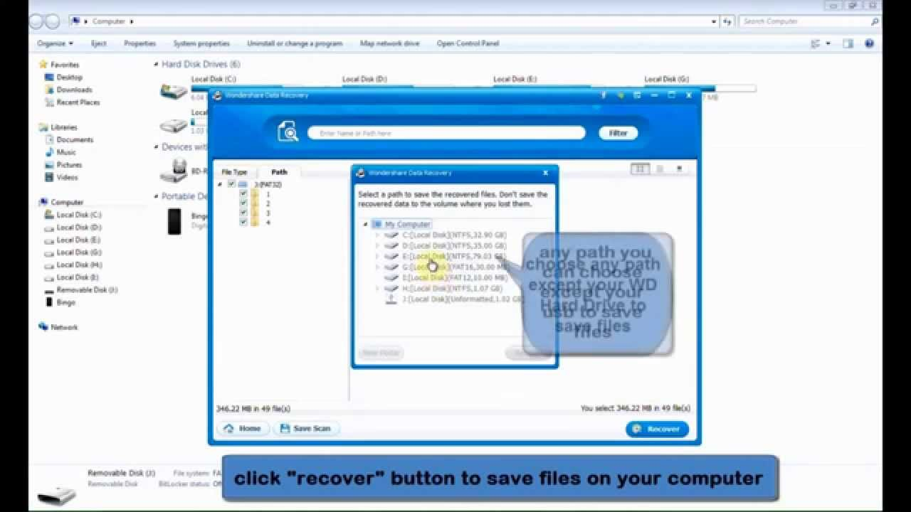 free data recovery software for wd external hard drive