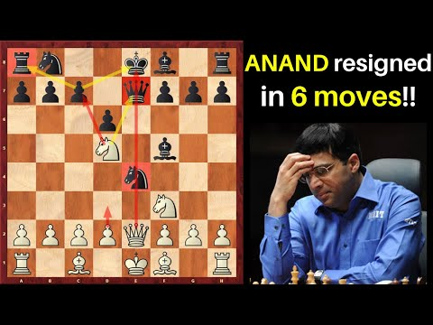6 Best Chess Opening Traps after 1.e4 (Kasparov & Anand were tricked!!)