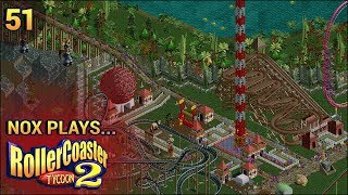 Nox Plays... Rollercoaster Tycoon 2: Time Twister | #51: Prehistoric - Jurassic Safari, Pt. 3