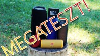 MEGATESZT! JBL GO vs Clip 2 vs Flip 3 vs Pulse 2 vs Charge 3 vs Xtreme
