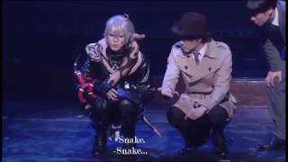 Tamaki Yuki as Snake .... says Emily Kuroshitsuji musical 2016 All ...