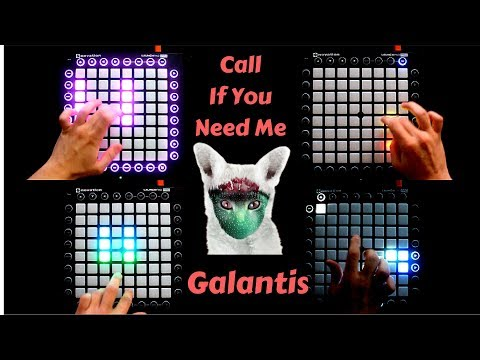 Galantis - Call If You Need Me // Launchpad Cover