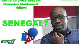 Revue de presse rfm du 02 Mars 2019 avec Mamadou Mouhamed Ndiaye