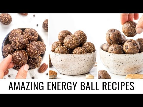 3 *MUST TRY* Energy Ball Recipes | HEALTHY VEGAN SNACKS