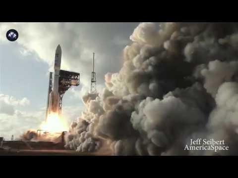 COMPILATION Views / GOES-S Launches atop ULA Atlas V Rocket