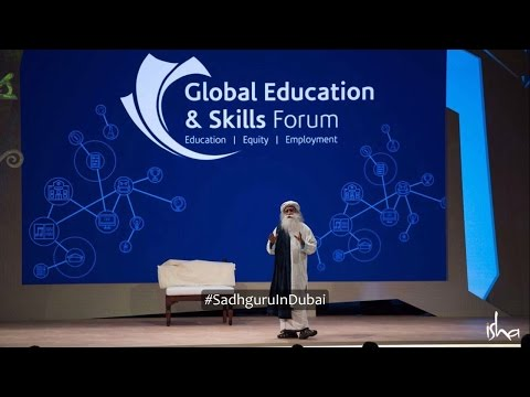 Sadhguru in Dubai: Truth is the Only Authority