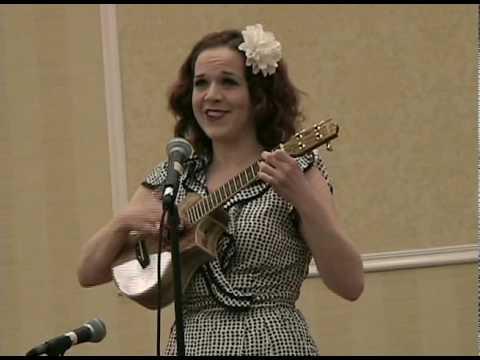 Lorinne Lampert Performing at Crossword Puzzle Tournament 2010