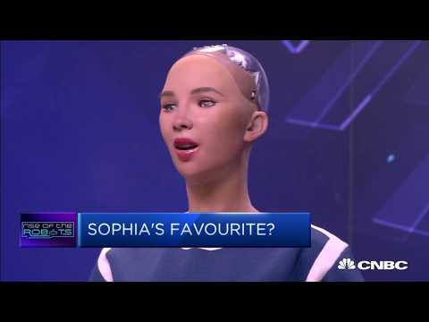 Sophia the Robot:  Robots can take over the most dangerous, menial jobs