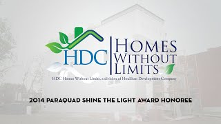 2014 paraquad shine the light awards hdc homes without limits