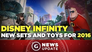 Disney Infinity Getting Tons of New Toys This Year - GS News Update