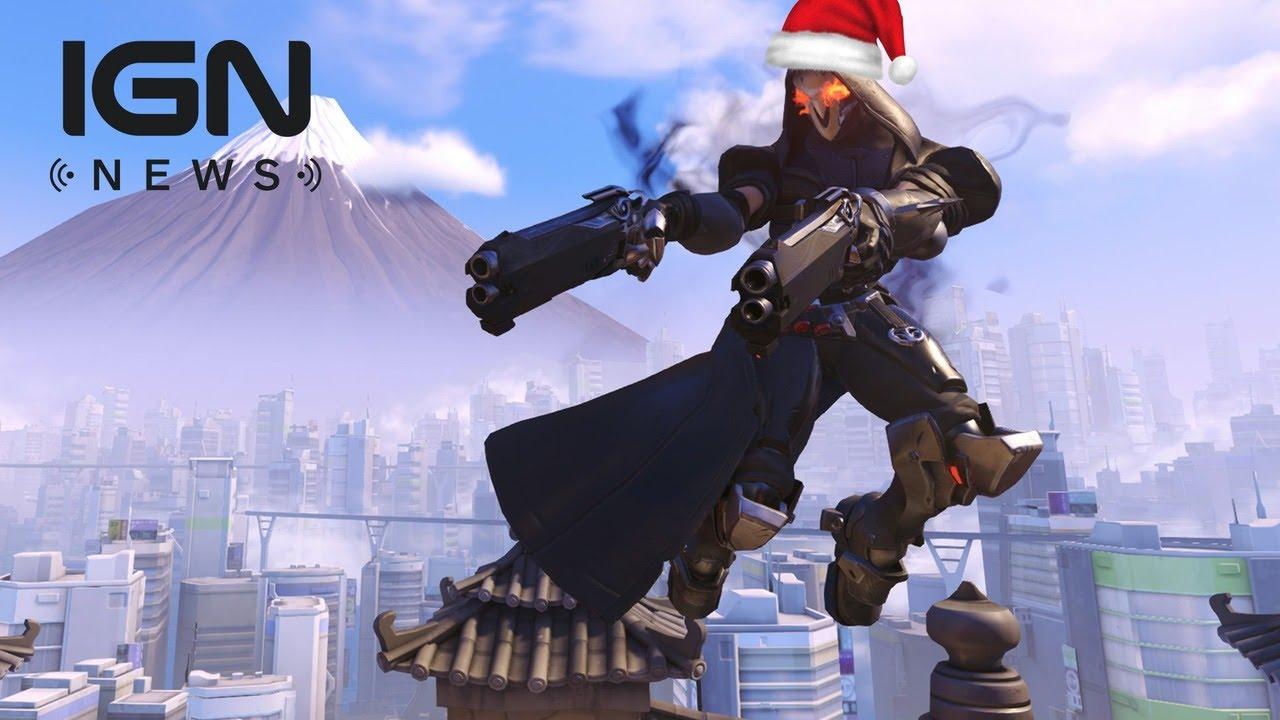 Overwatch Christmas Event Begins December 13 – IGN News