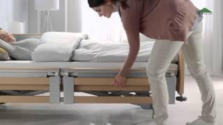 Burmeier Regia Pflegebett Produktfilm